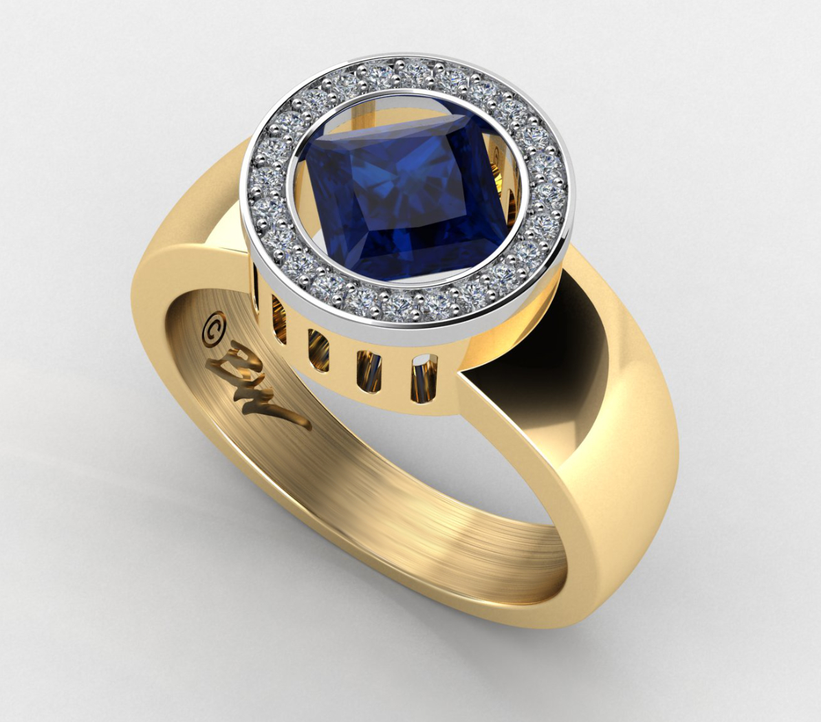 custom-engagement-ring-gold
