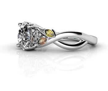 white gold vs platinum bw rings