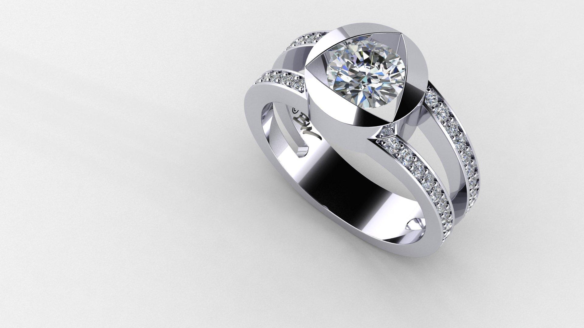 diamond-trillion-halo-engagement-ring